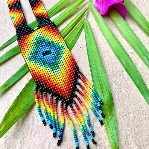 Embera Beaded Ceremonial Necklace