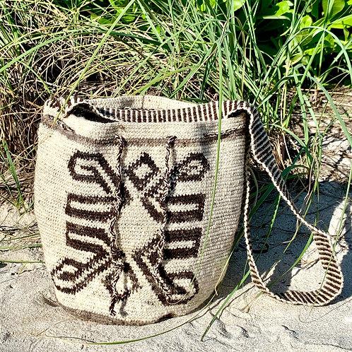 Woven Misak Mochila Cross-Body Bag