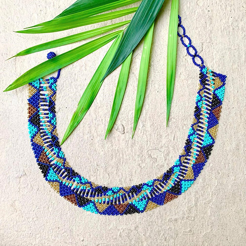Camila Beaded Embera Boho Necklace