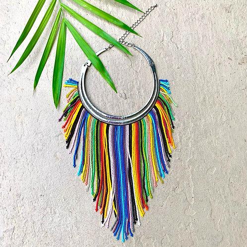 Embera Beaded Boho Necklace