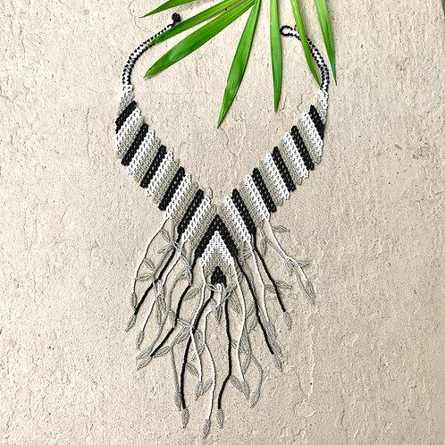 Embera Beaded Bridal Okama Boho Necklace