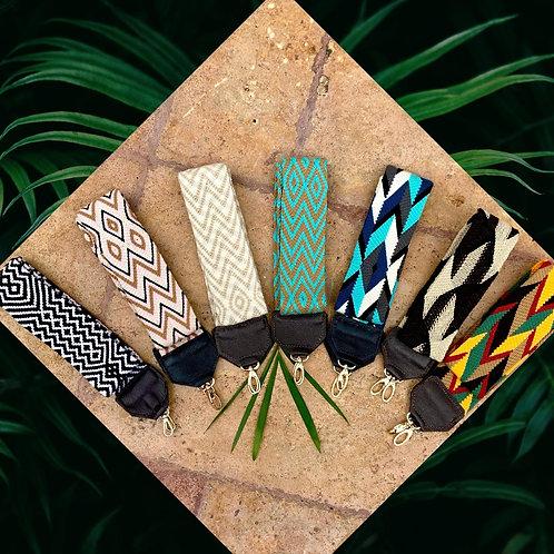 Wayuu Handwoven Camara and Bag Straps