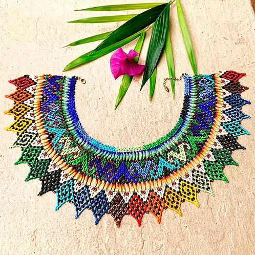Embera Beaded Okama Boho Necklace