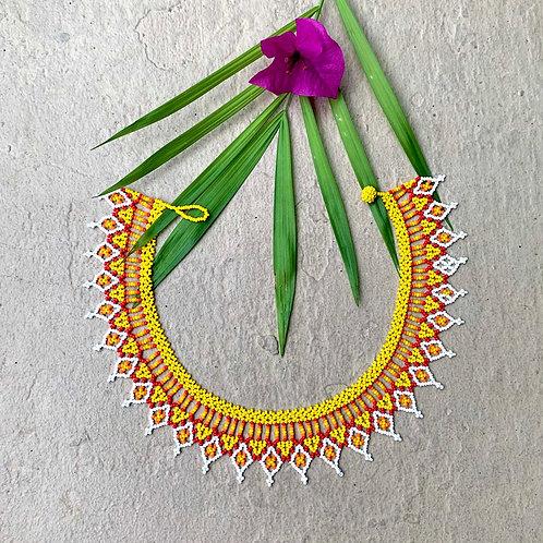 Sunshine Embera Boho Necklace