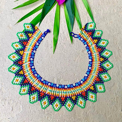 Embera Beaded Okama Boho Necklace