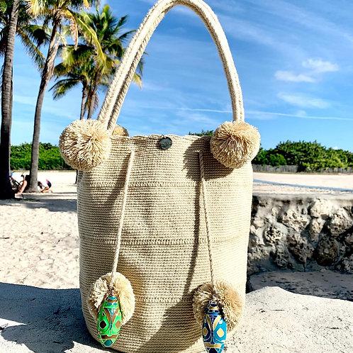 Lucia Woven Wayuu Mochila Shoulder-Bag