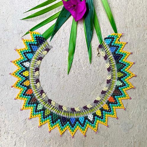 Embera Festival Beaded Boho Necklace