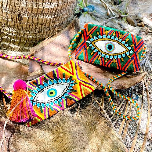Wayuu Evil Eye Cross-Body Bag