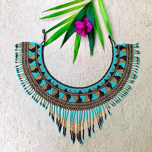 Liliana Beaded Embera Boho Okama Necklaces