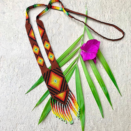 Embera Ceremonial Beaded Necklace