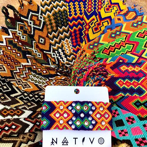 Wayuu Woven Friendship Bracelets