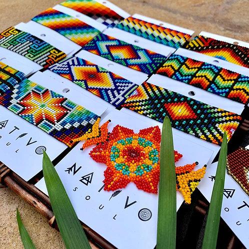 Embera Beaded Cuff Bracelets