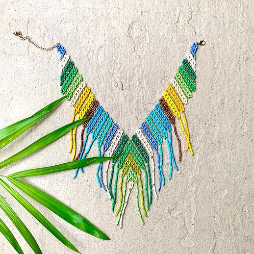 Embera Beaded Boho Necklace