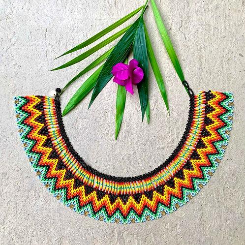 Ximena Beaded Embera Okama Boho Necklace