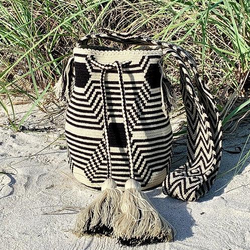 Wayuu Woven Boho Mochila Cross-Body Bag