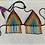 Thumbnail: Beaded Bikini Top Arco Iris