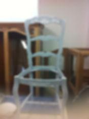 Restauration d'un chaise
