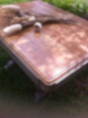 Table restaurée