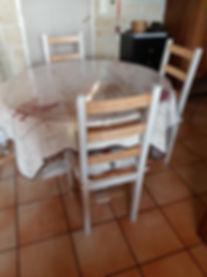 Table et chaises d cuisne