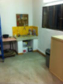 Atelier peintre sur mobilier