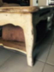 Table Basse avant Restauration