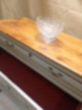 intérieur tiroirs sang de boeuf