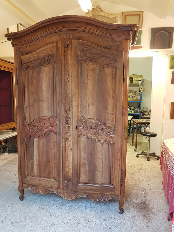 armoire après restauration