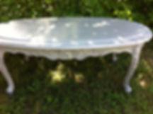 Table basse restaurer