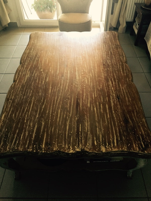 Table basse avant Restauration