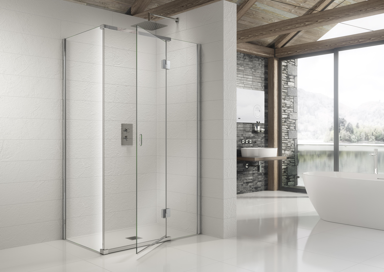 Easy Clean Frameless Door