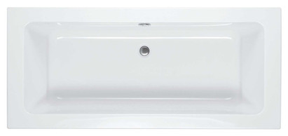Square Double Ended Bath