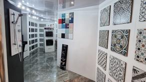 Showroom revamp including enlarged tiled offering