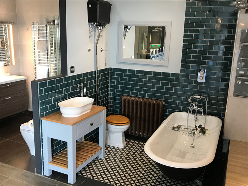 Surrey Bathroom Studio Showroom Burbridge