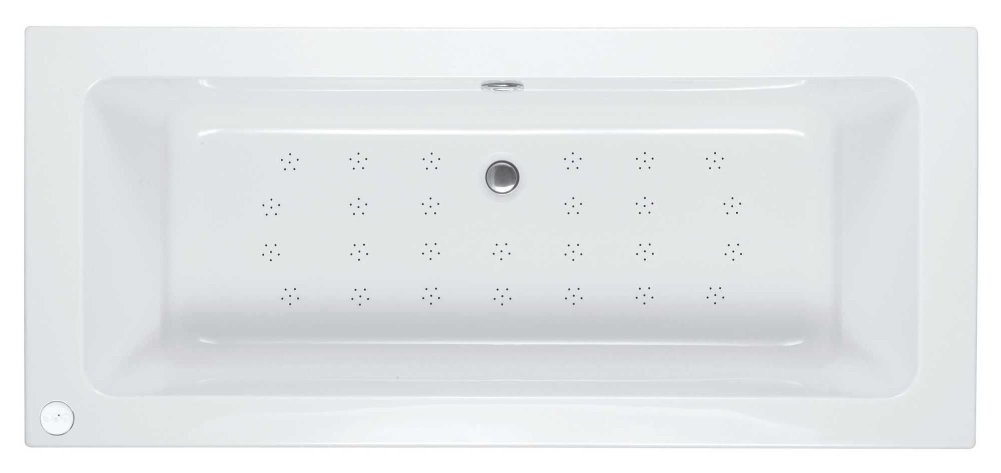 Double Ended Bath with Whirlpool