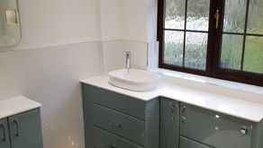 One of our latest bathroom designs