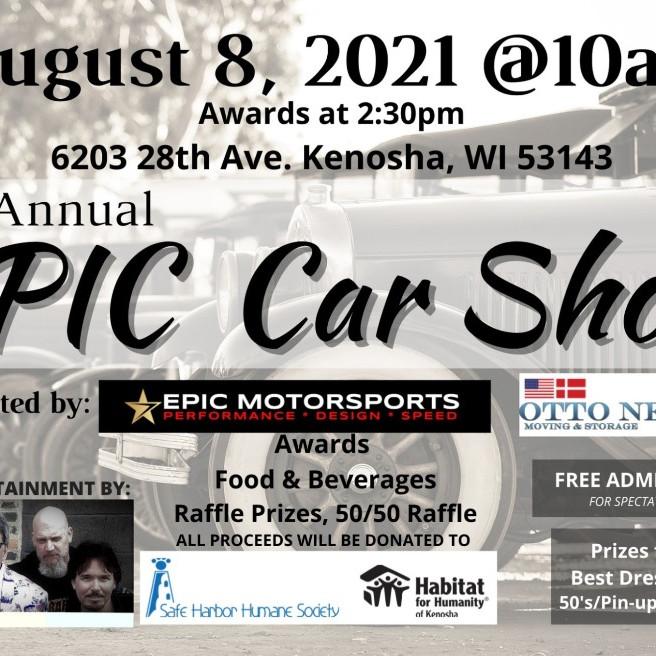 Habitat Kenosha Fundraiser: 1st Annual Epic Car Show