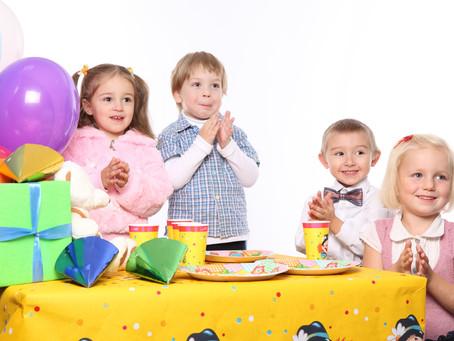 10 игр для детской вечеринки (1,5 - 3 года)