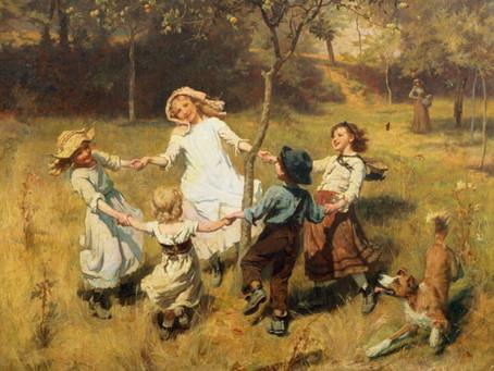 Фольклорные игры с мамой и другими близкими