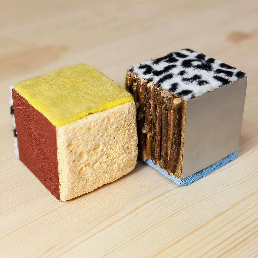 Кубики для сенсорной интеграции