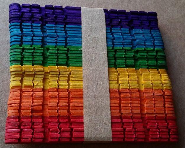 Разноцветные палочки антистресс