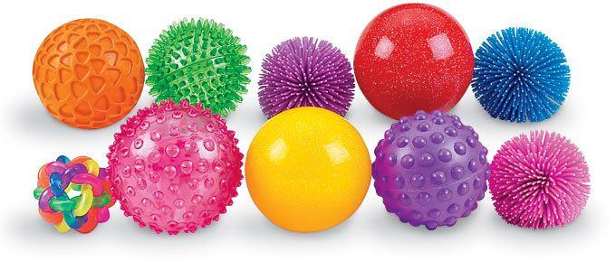 Мячики - оборудование для сенсорной интеграции