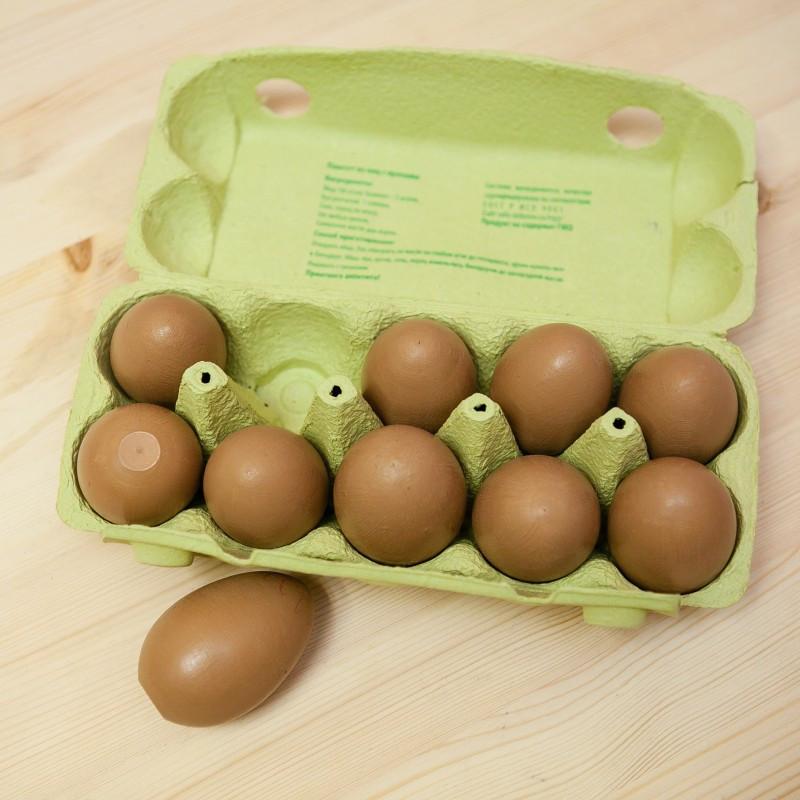 Деревянные яйца антистресс