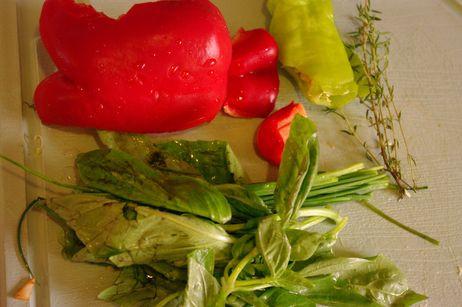 Ингредиенты для сенсорного ужина с ребенком