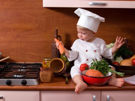 Кухонные игры для детей от 1 до 2 лет