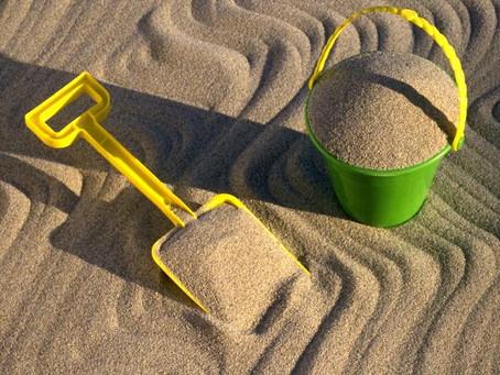 Игры на даче и пляже для детей 2 лет