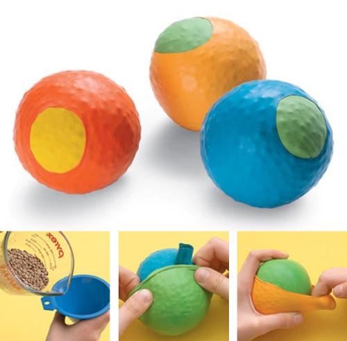 Мячик для сенсорной интеграции своими руками
