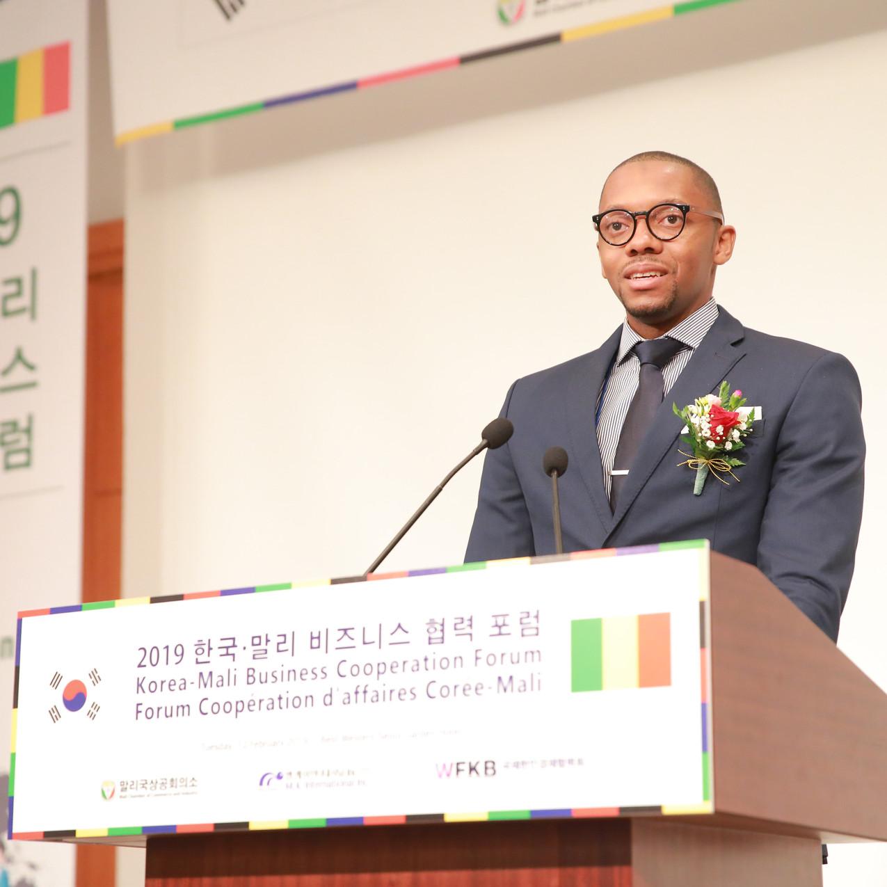 Mr. Issa Yatassaye, Vice President of Mali Chamber of Commerce and Industry (CCIM)
