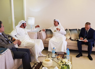 """Official Visit: """"Meetings with Defense Sector of IGG Group and Petrochemical Industries Leaders"""