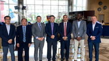 "Official Visit: ""Meetings with Grupo Boavida and Government Authorities for Future Business in"