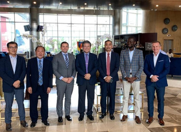 """Official Visit: """"Meetings with Grupo Boavida and Government Authorities for Future Business in"""